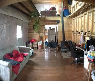 The Cabin all cleaned up