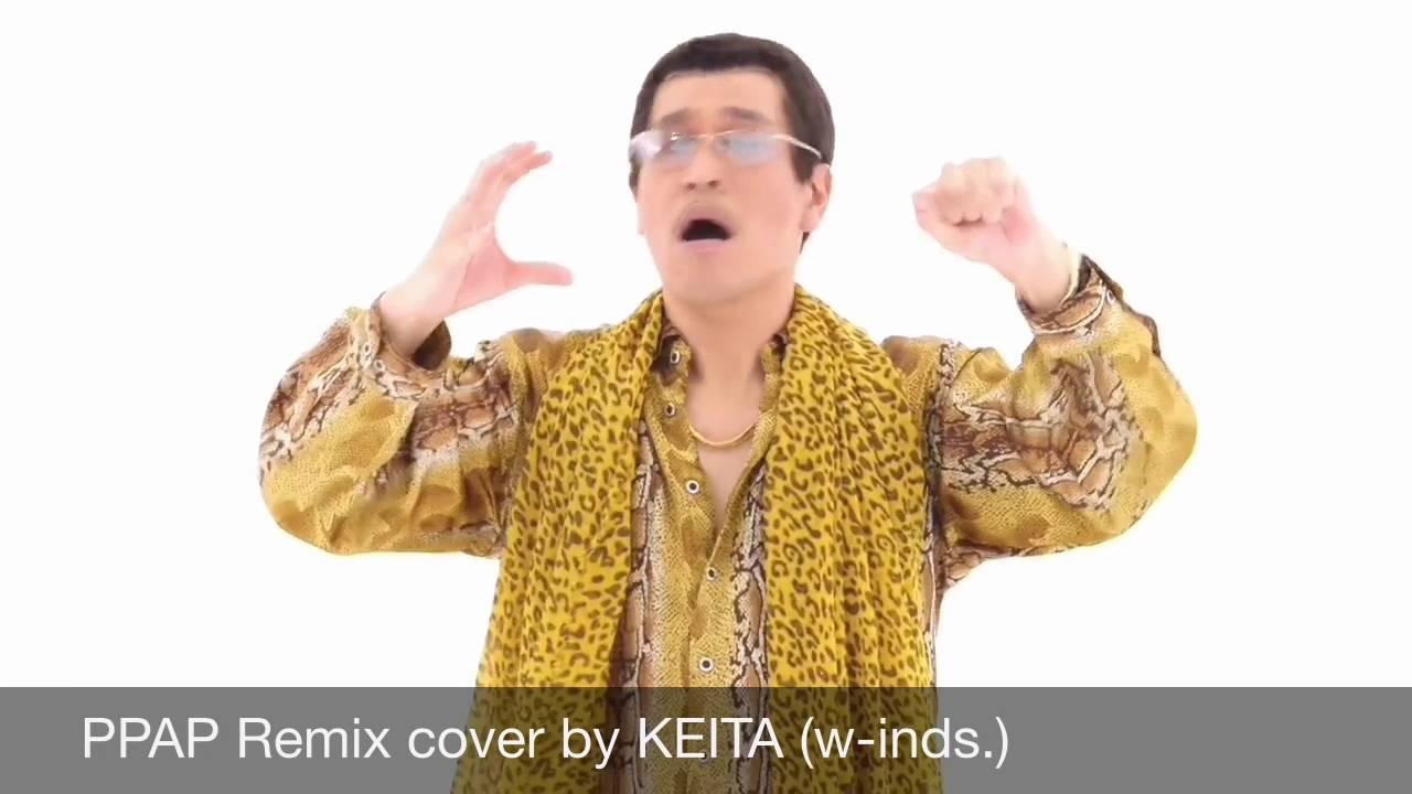 w-inds.の橘慶太が歌うPPAPイメージ