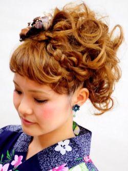 成人式の髪型2