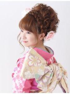 成人式の髪型12
