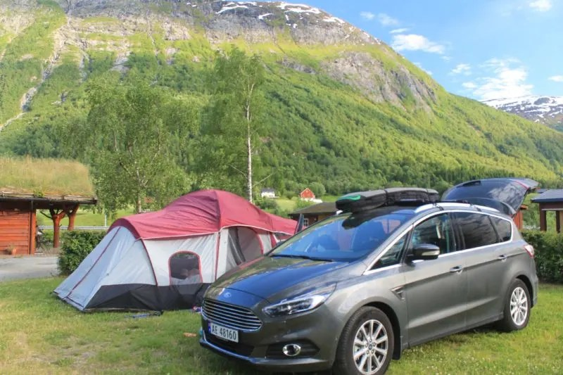 tent camping norway