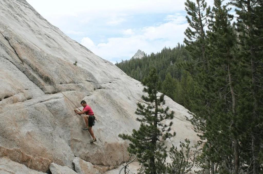 Tuolumne Meadows Yosemite, pothole dome