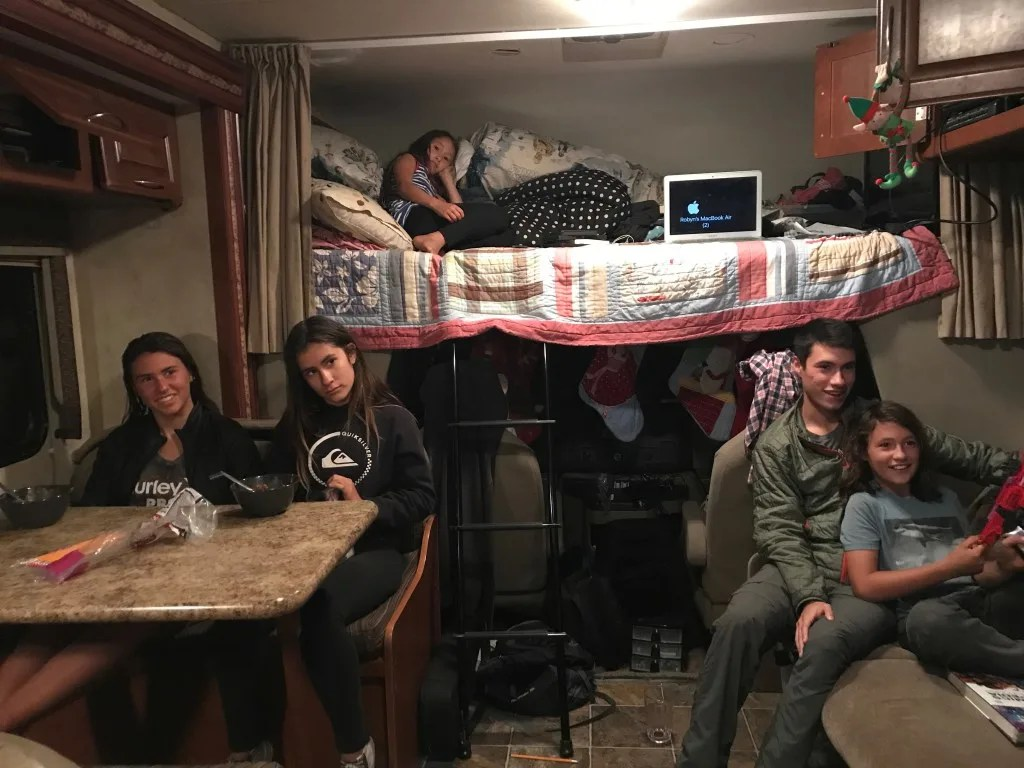 Small spaces, Why RV Living with Kids is Awesome