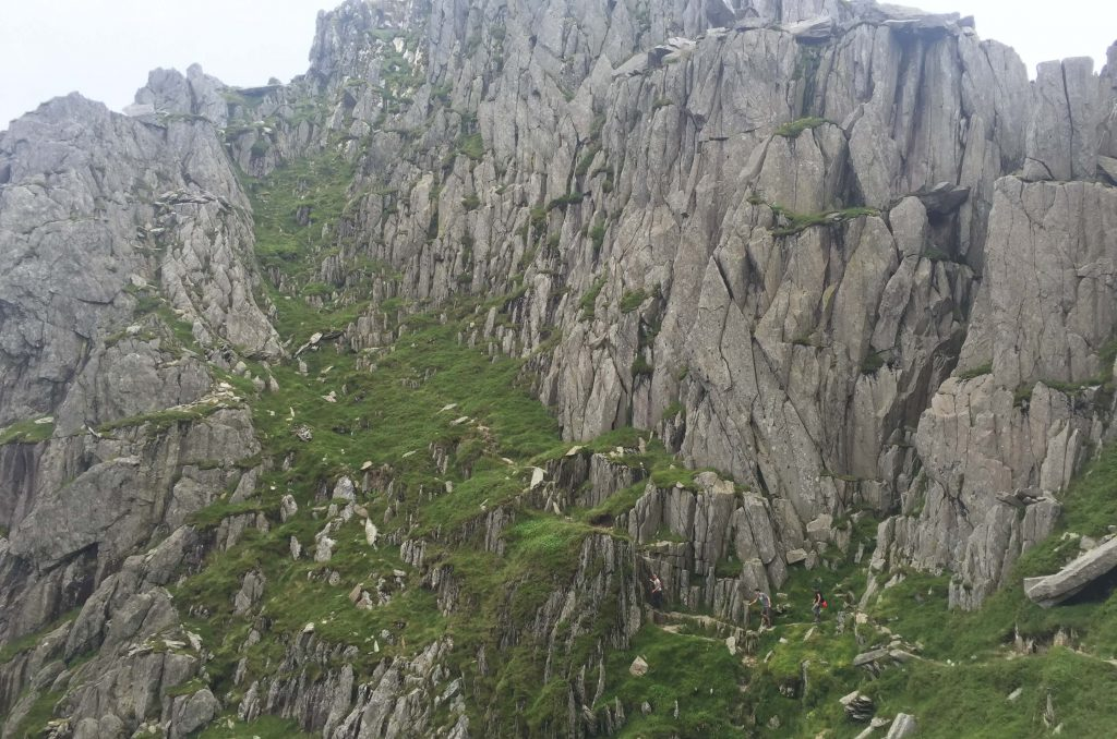 Hiking by Tryfan in Snowdonia on 2 week road trip UK