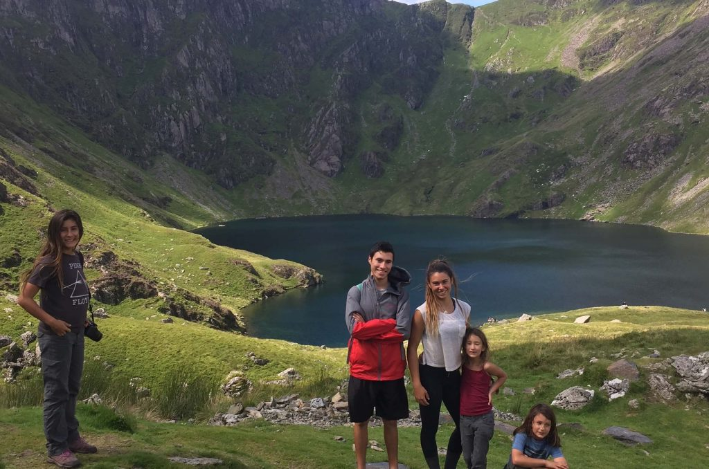 Hiking Cadir Idris on 2 week road trip UK
