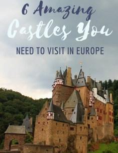 6 best castles to visit in Europe