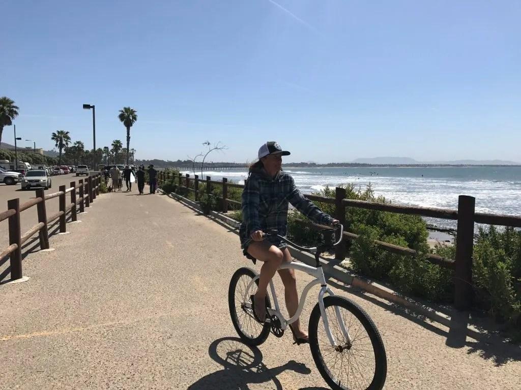 2 week California coast road trip itinerary:  Ventura beach