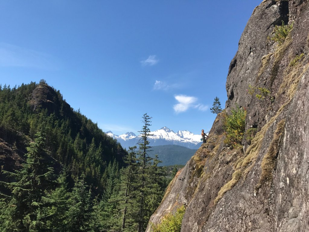 Rock Climbing at Chek, Sea to Sky Road Trip: An Adventure For Your Whole Family