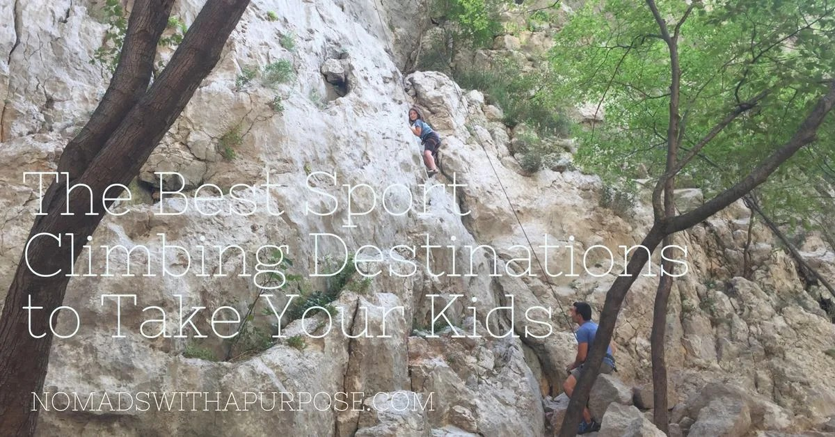 The Best Sport Climbing Destinations to Take Your Kids