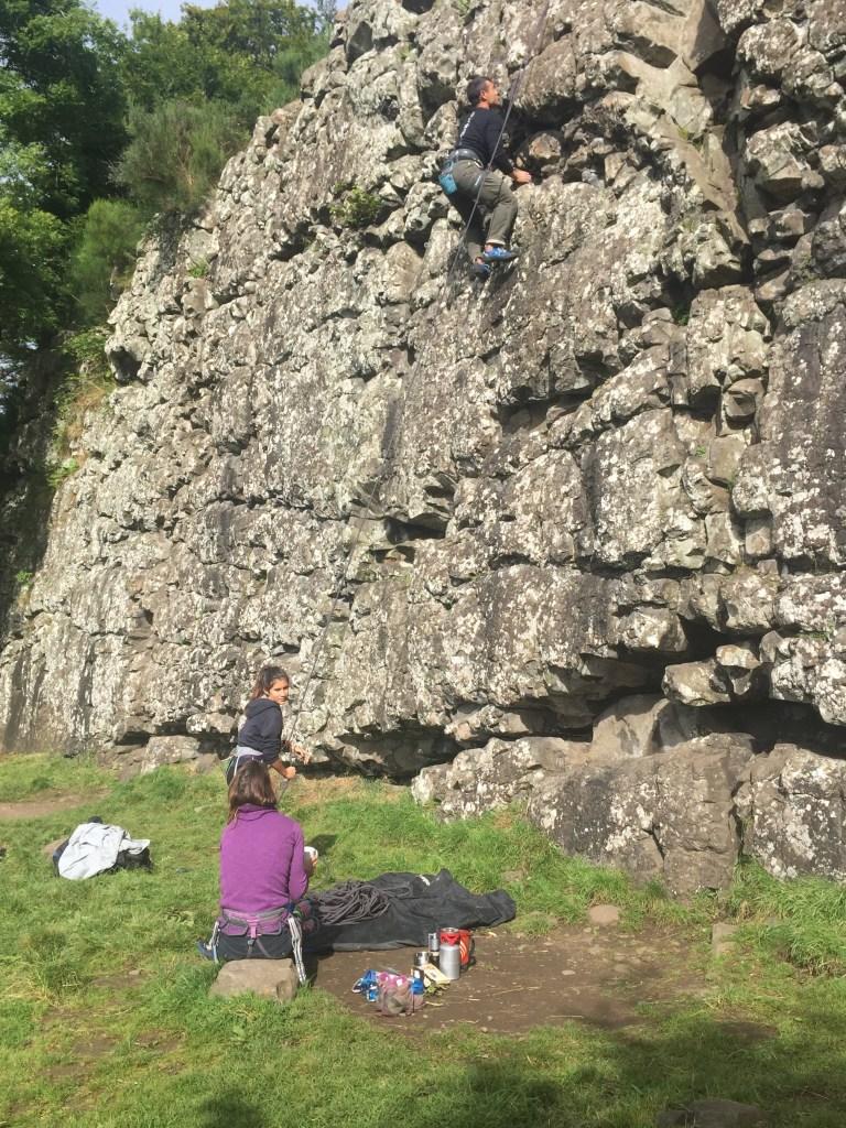 Rock Climbing Benny Beg, Scotland: Best Sport Climbing Destinations To Take Your Kids