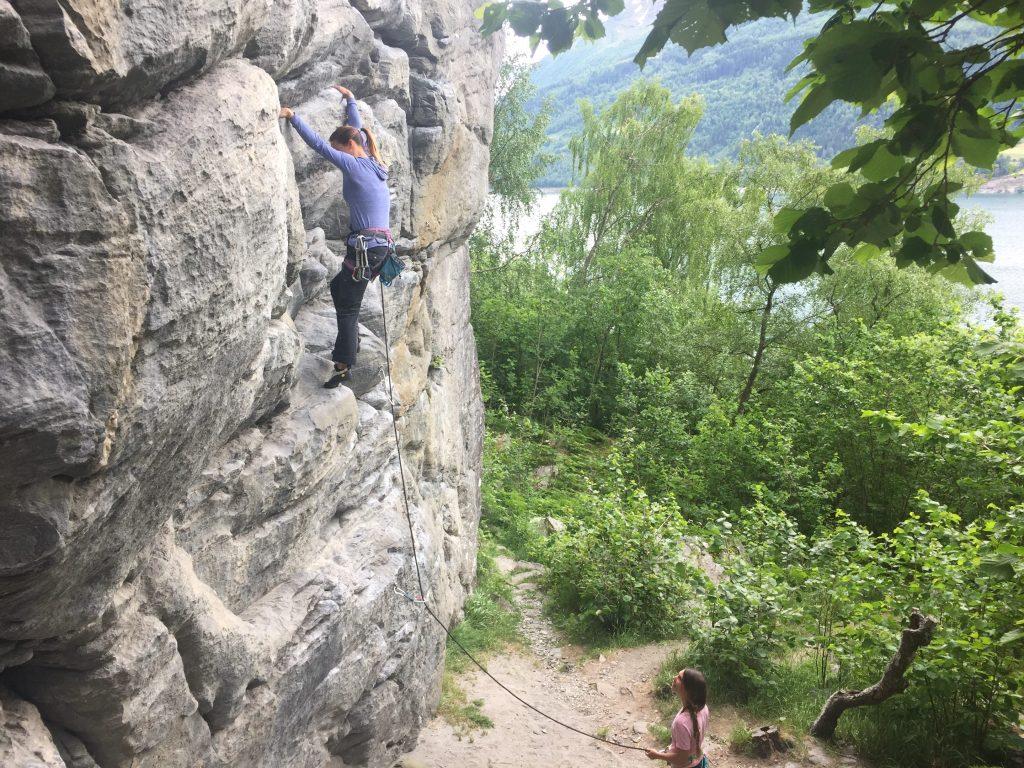 Rock Climbing Stryn, Beachen: Best Sport Climbing Destinations To Take Your Kids