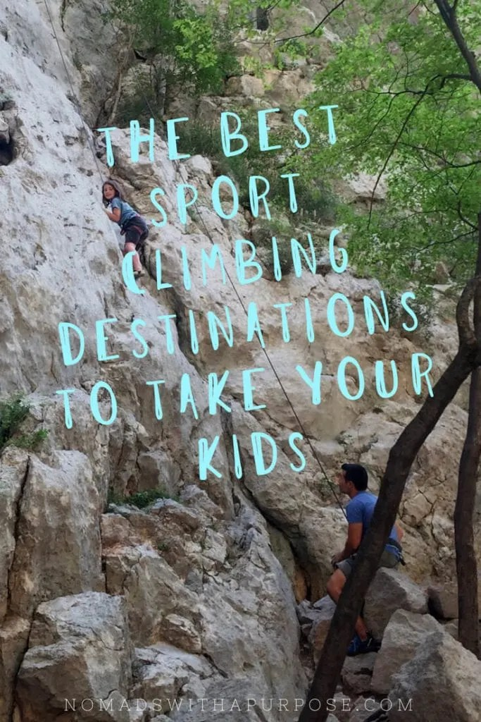 Best Sport Climbing With Kids