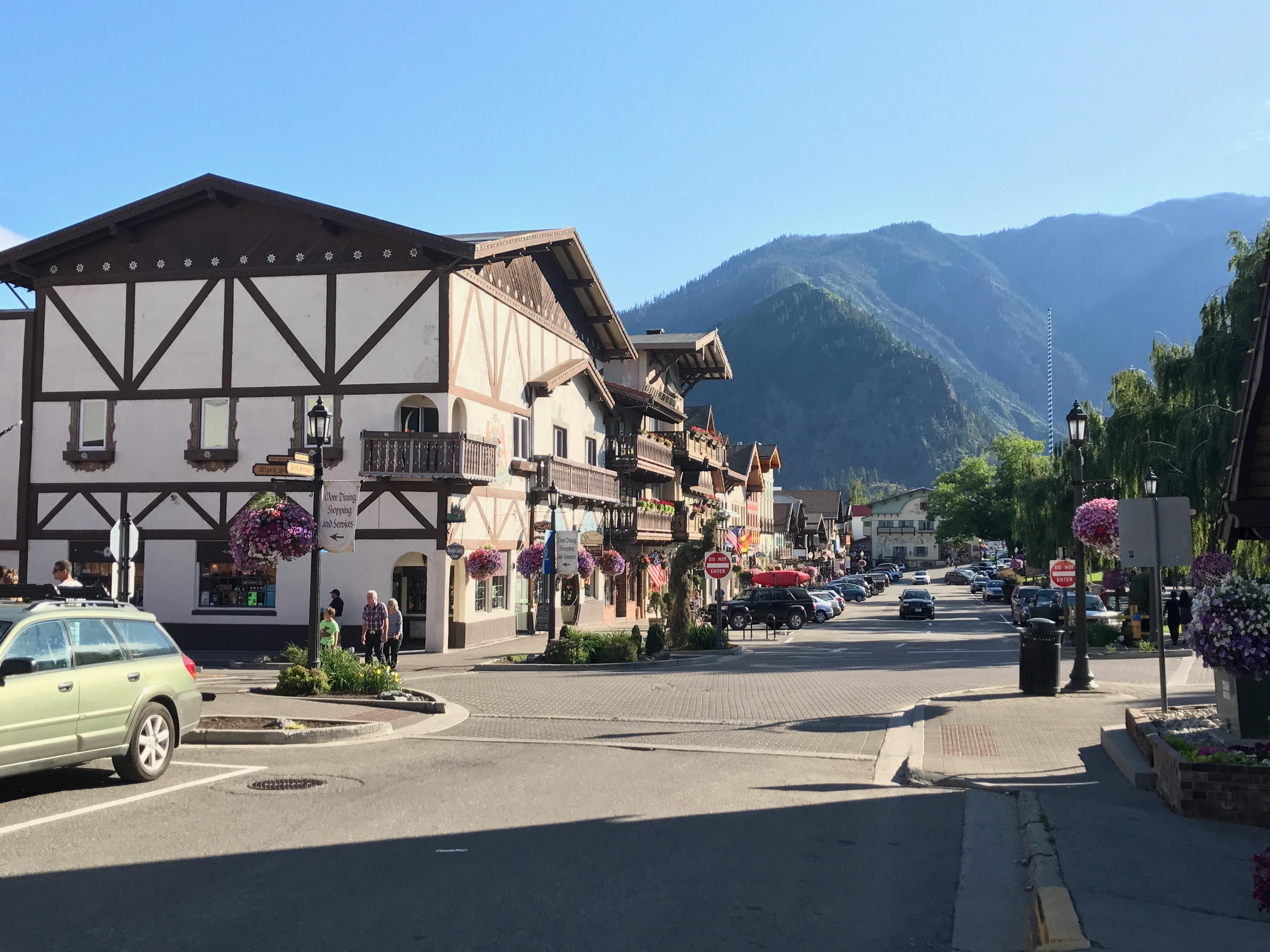 Leavenworth on our summer adventure road trip