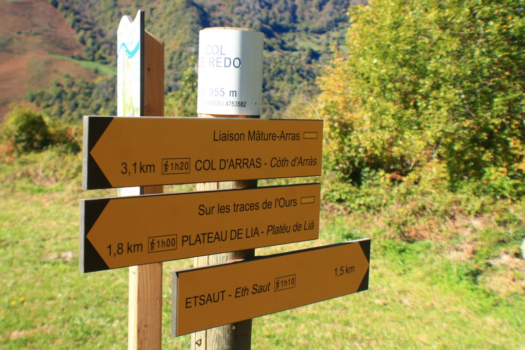 hiking the French Pyrenees Chemin de la Mature