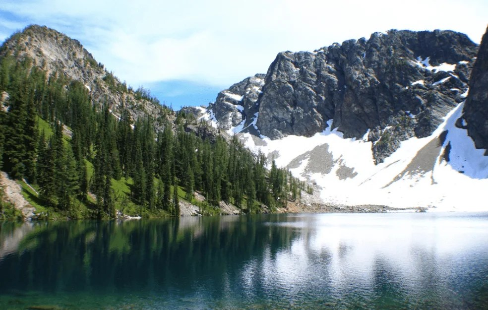 Blue Lake, Washington Pass, US road trip