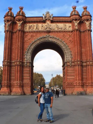 Arc du Triunfo, Barcelona