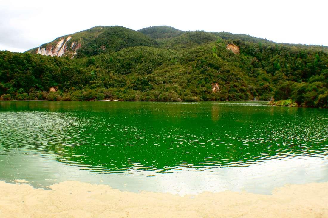 Lake by Kerosene Creek, 3 week New Zealand Itinerary