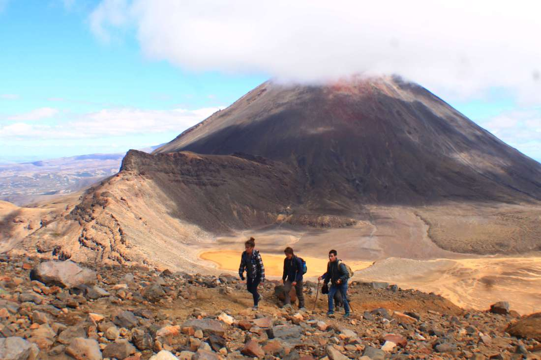 Hiking Tongariro, 3 week New Zealand Itinerary