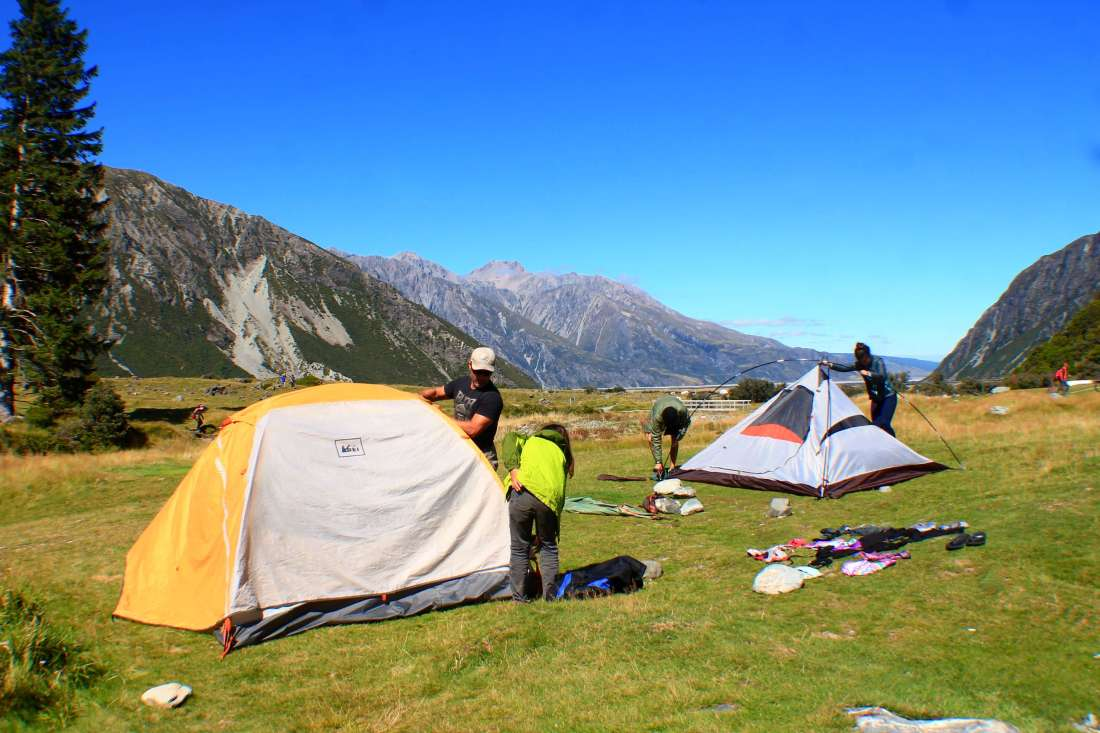 White horse hill campground, Mount Cook, 3 week New Zealand Itinerary