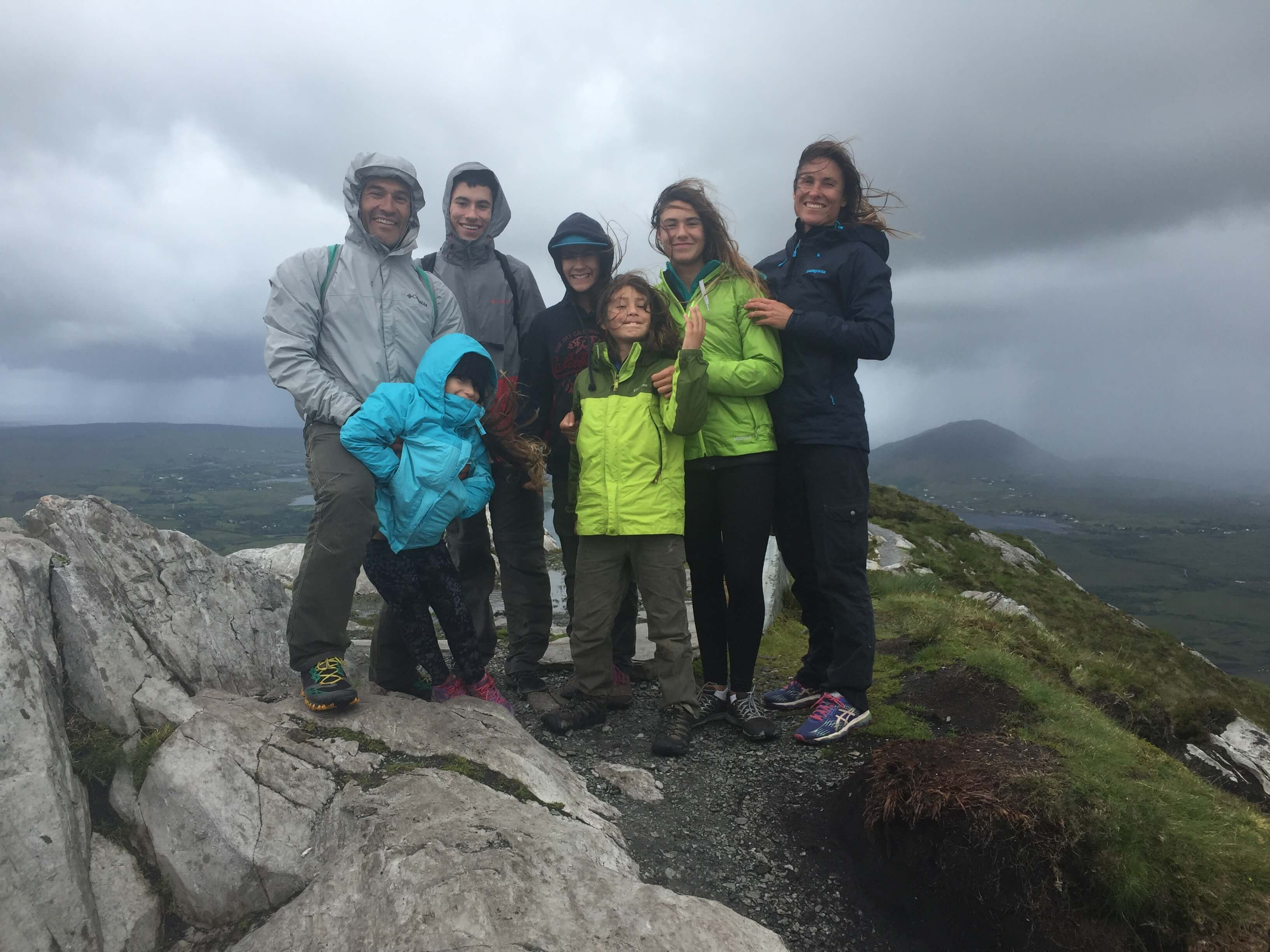 Rainstorm in Ireland, How to Plan a successful Road Trip