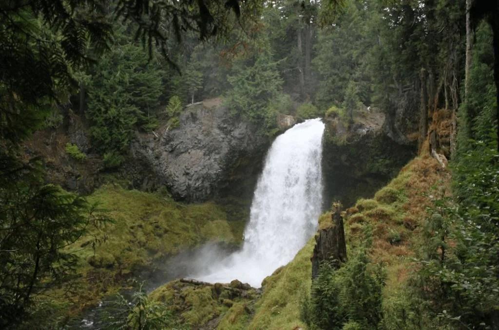 Sahalie Koosah Falls, 5 adventurous things to do on the Mackenzie river trail, oregon