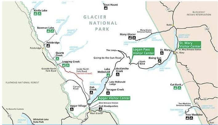 Tips for visiting Glacier National Park