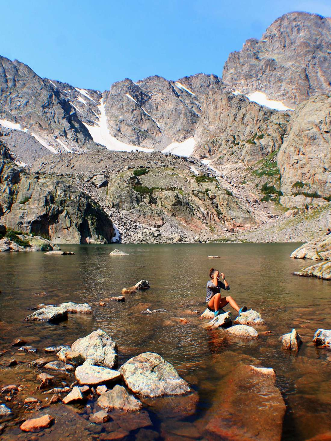 Sky Pond, Best Day Hikes from Bear Lake in Rocky Mountain National Park + Camping Tips