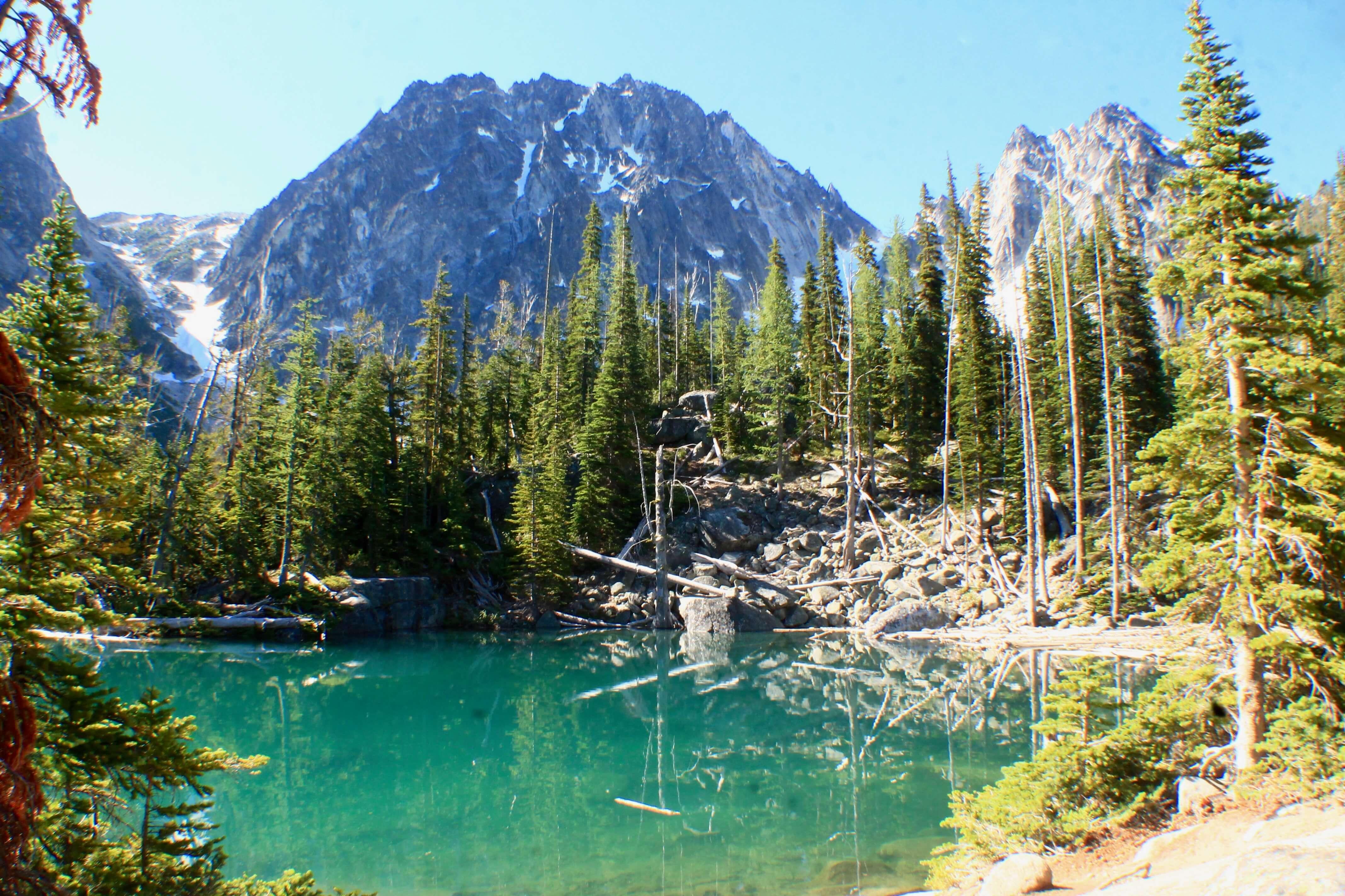 Colchuck lake, Hiking the Enchantments