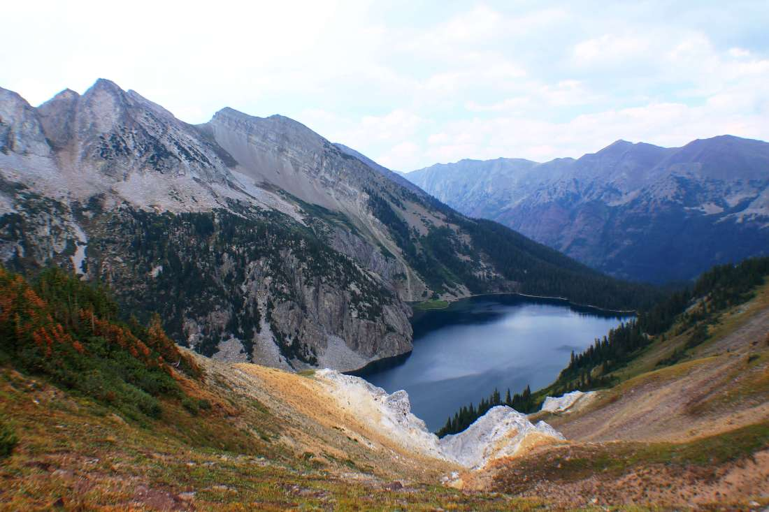 Snowmass Lake, Backpacking the Maroon Bells Four Pass Loop