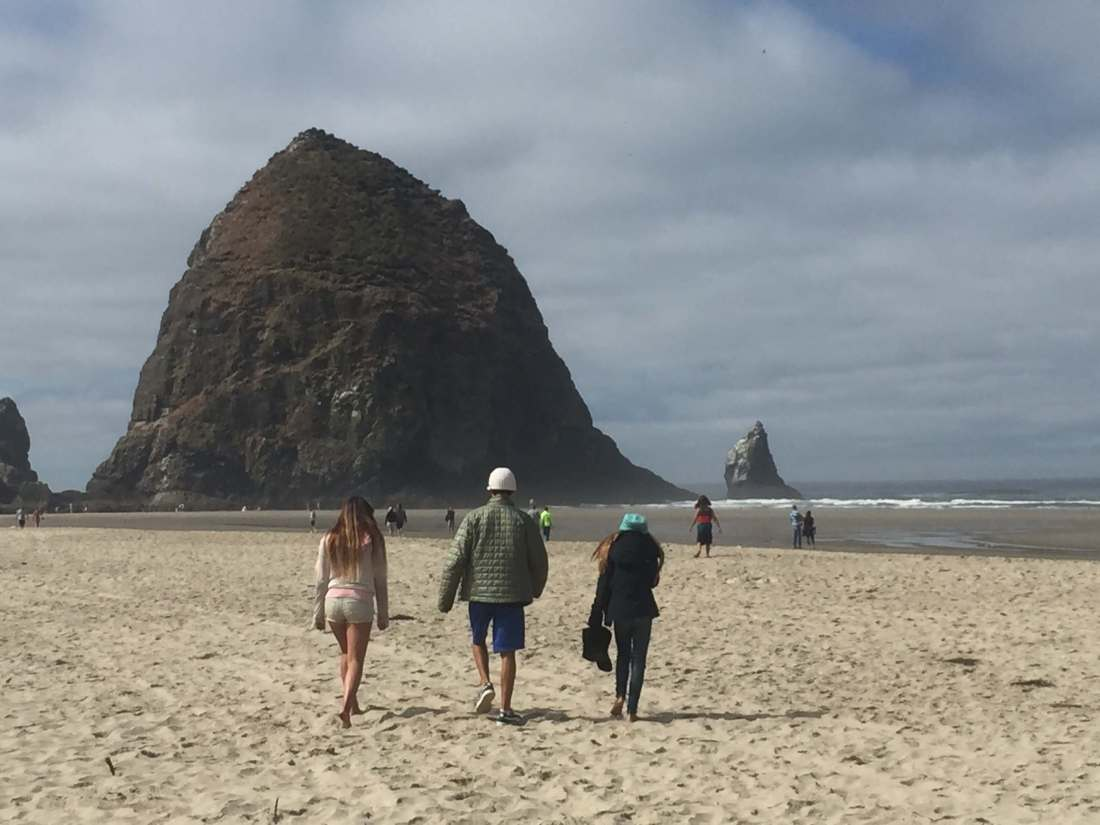 Best Oregon Campgrounds- Cannon Beach