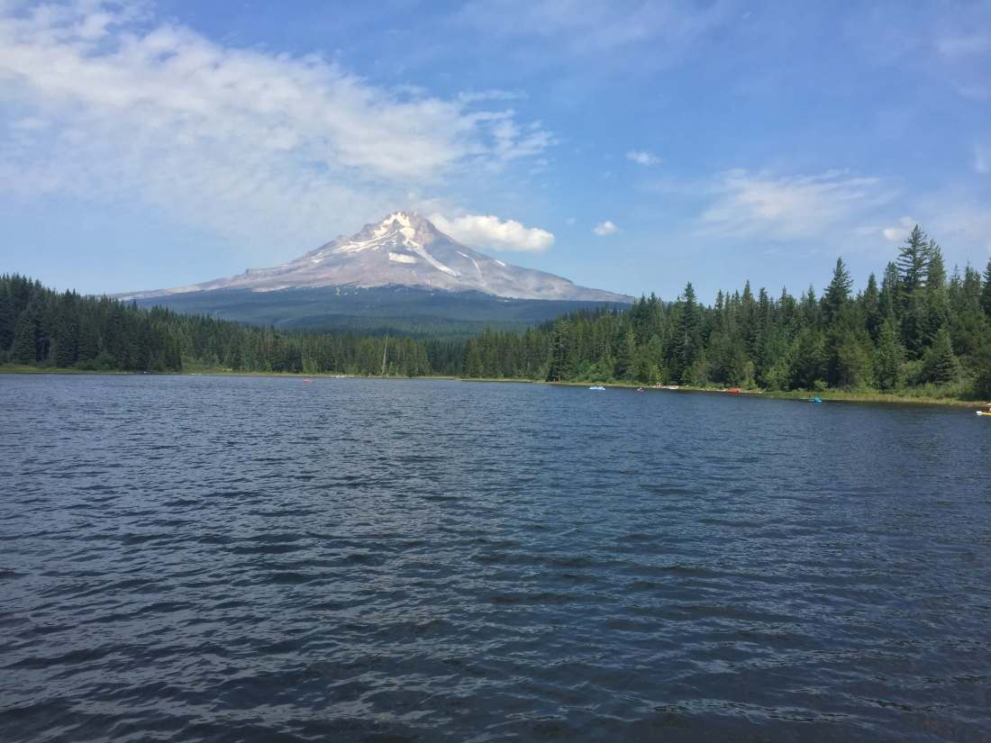 Best Oregon Campgrounds- Trillium Lake