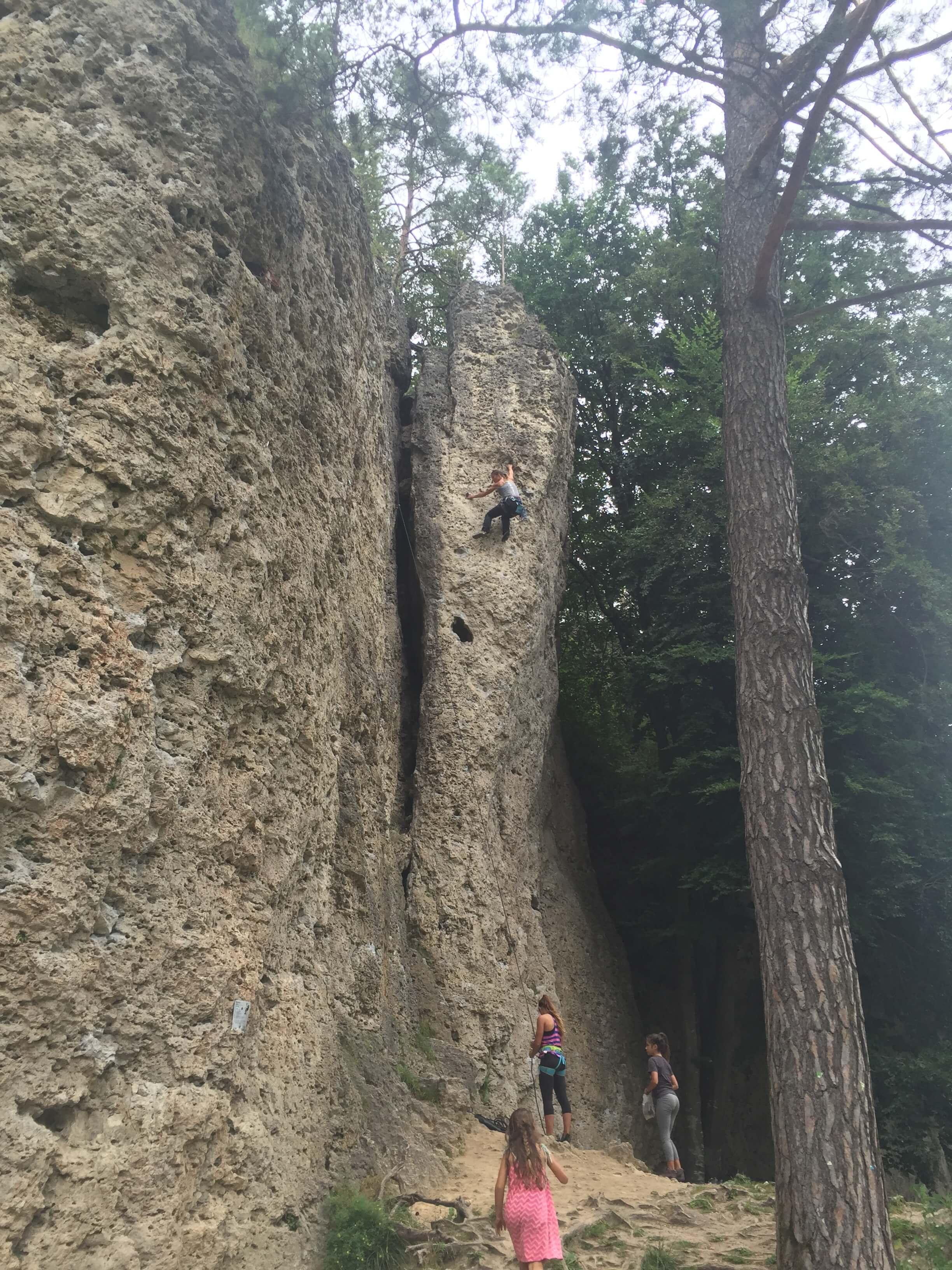 Best Rock Climbing Europe- Germany