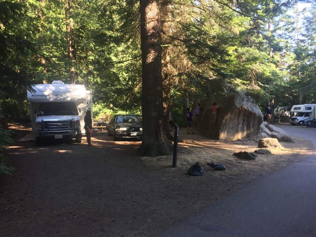 best campground Washington Larrabee