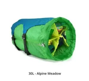 Segmented Stuff Sack by Gobi Gear, Gift guide for adventure travelers