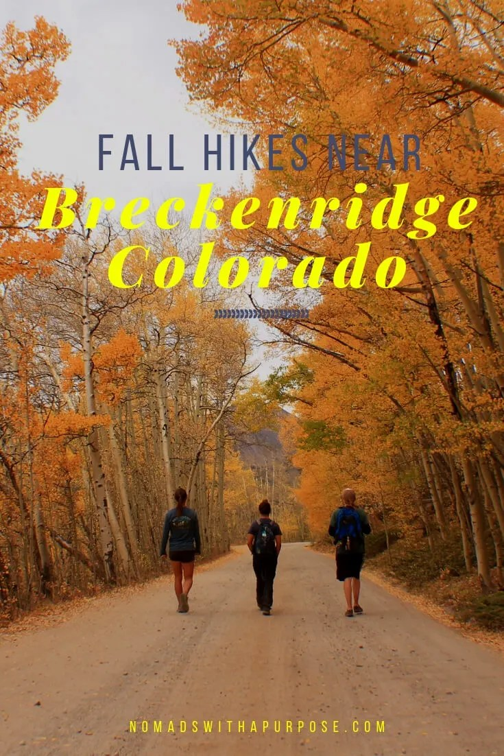 best fall hikes near Breckenridge