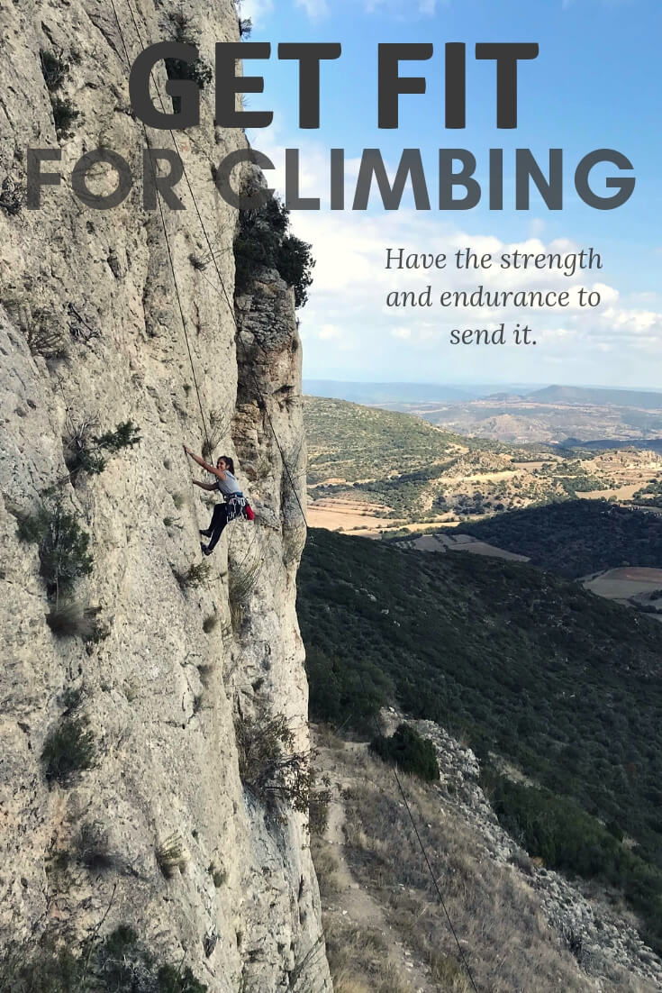 Get fit for climbing