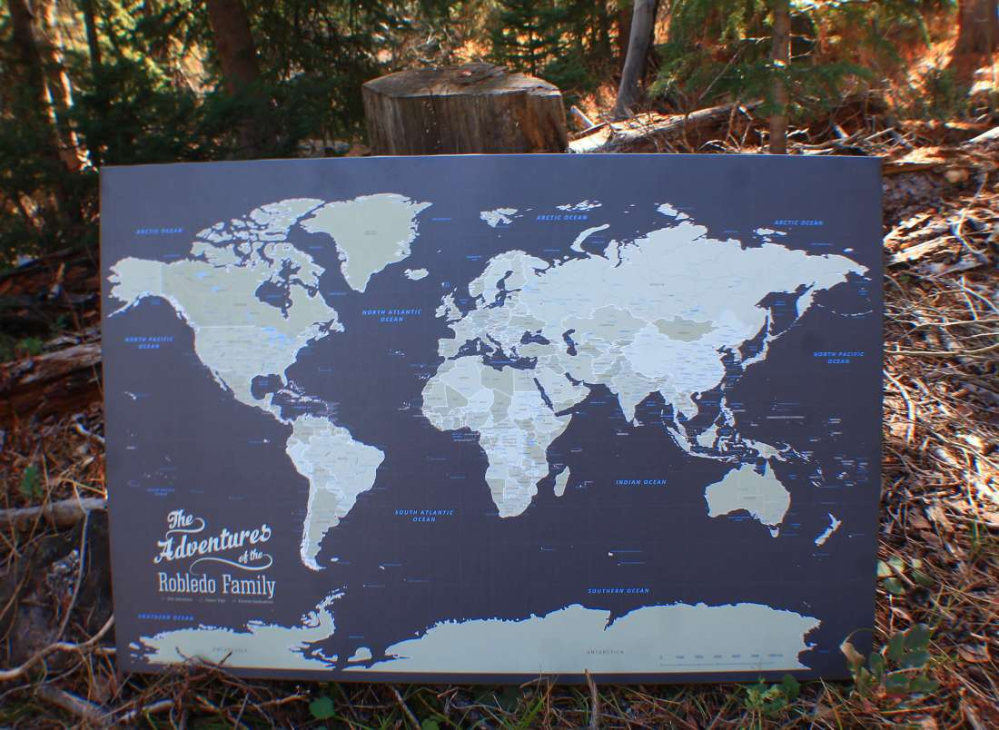 Push Pin Travel Maps: Best Gift for Travelers