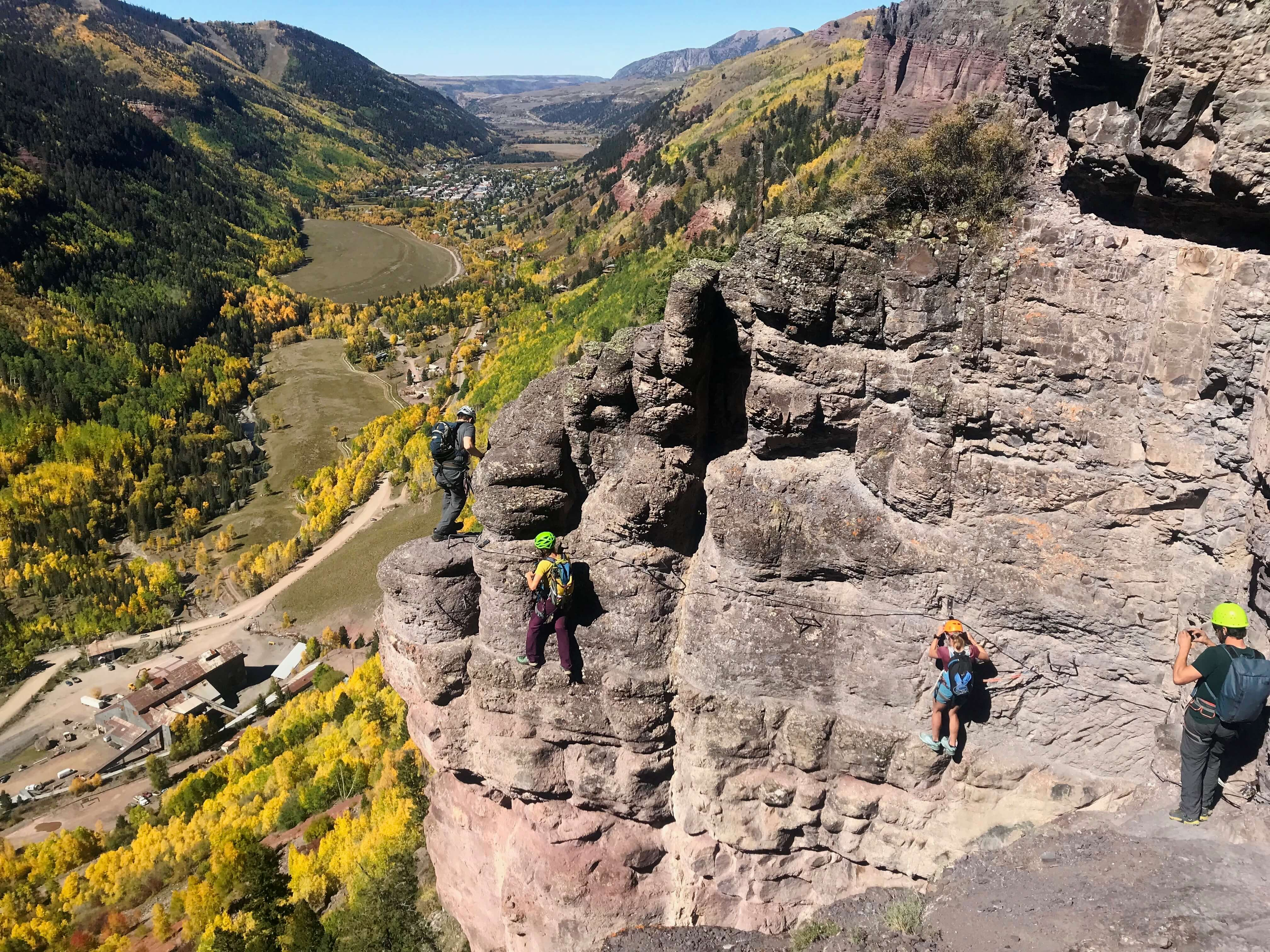 Via Ferrata, things to do in Telluride in October
