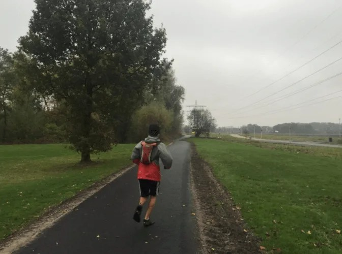 Danny running in Netherlands, 50 things to know when planning your 1st trip to Europe