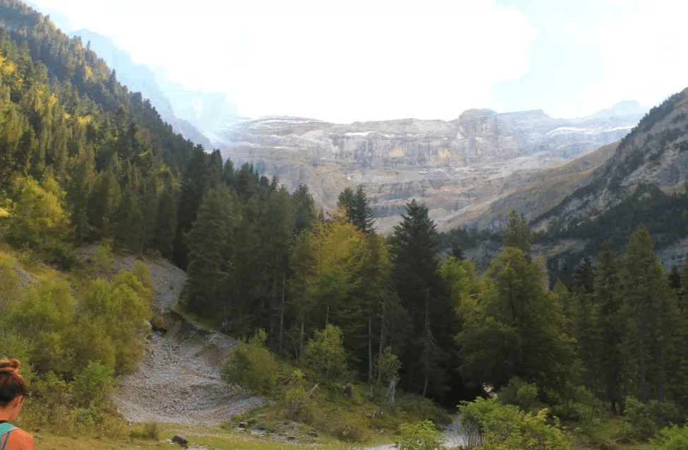 Unreal views while Hiking Cirque de Gavarnie in the French Pyrenees