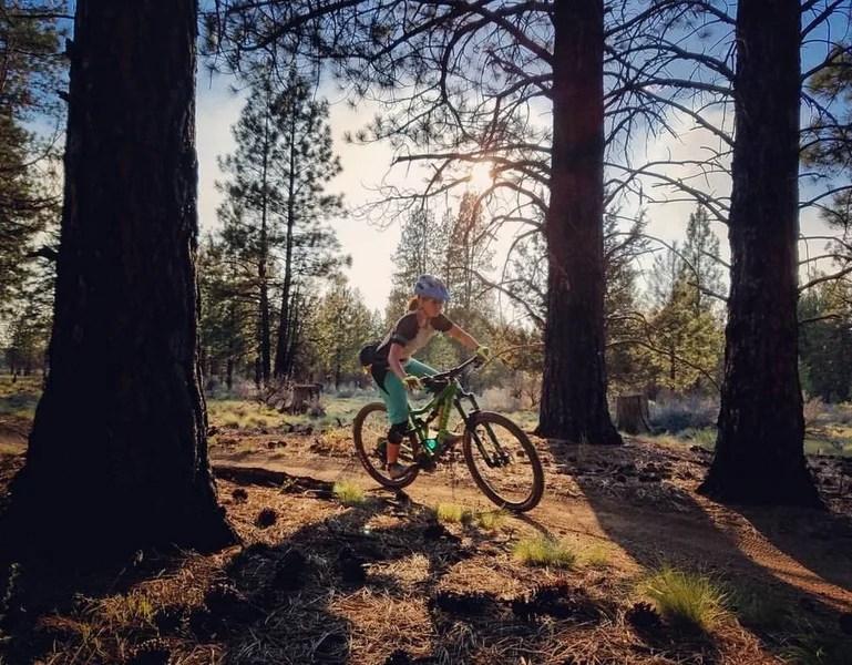Mountain biking Bend, Kent's to KGB