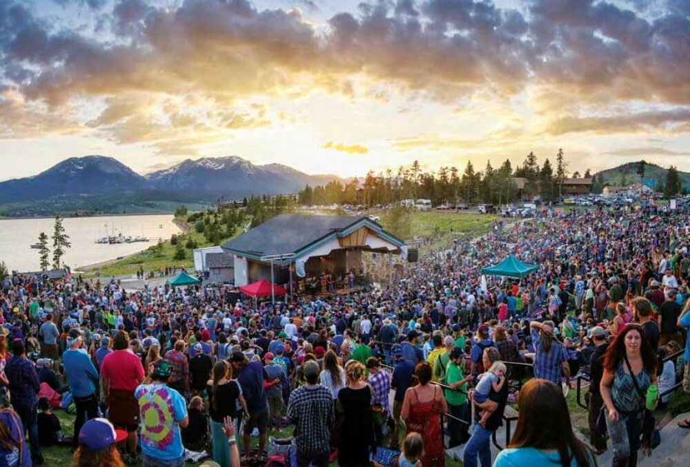 The amazing ambiance of Lake Dillon Amphitheater