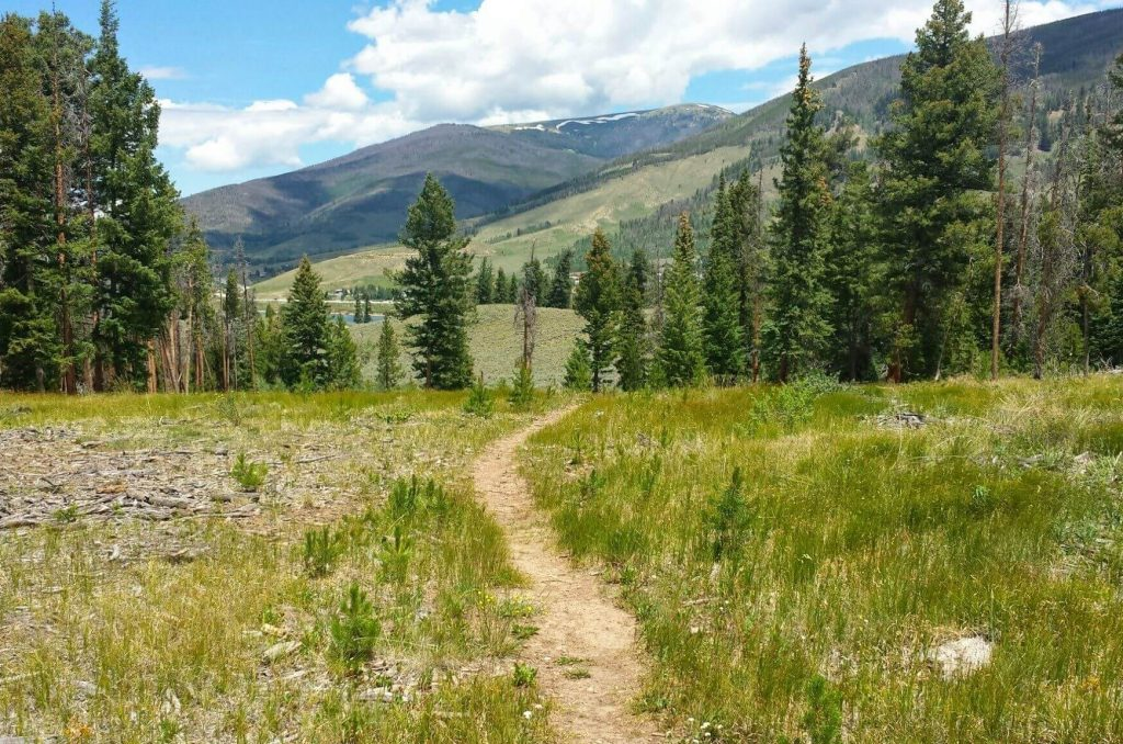 The Tenderfoot Trail, perfect for mountain biking, Things to Do in Silverthorne