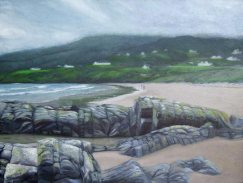 Beach Rocks on Fintra Bay, Donegal