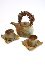 Teapot and Teabowls