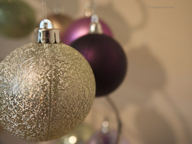 Baubles and bokeh