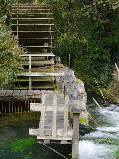 One of eleven water mills.