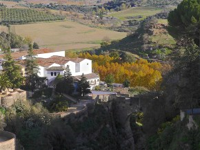 The old bridge, Ronda