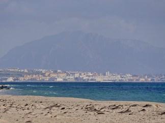 Tarifa and African coastline