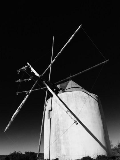 Traditional Portuguese windmill